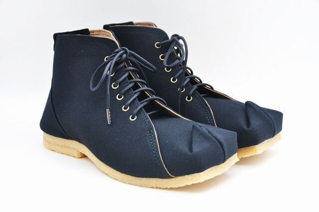 tote boots 倉敷帆布の画像1枚目