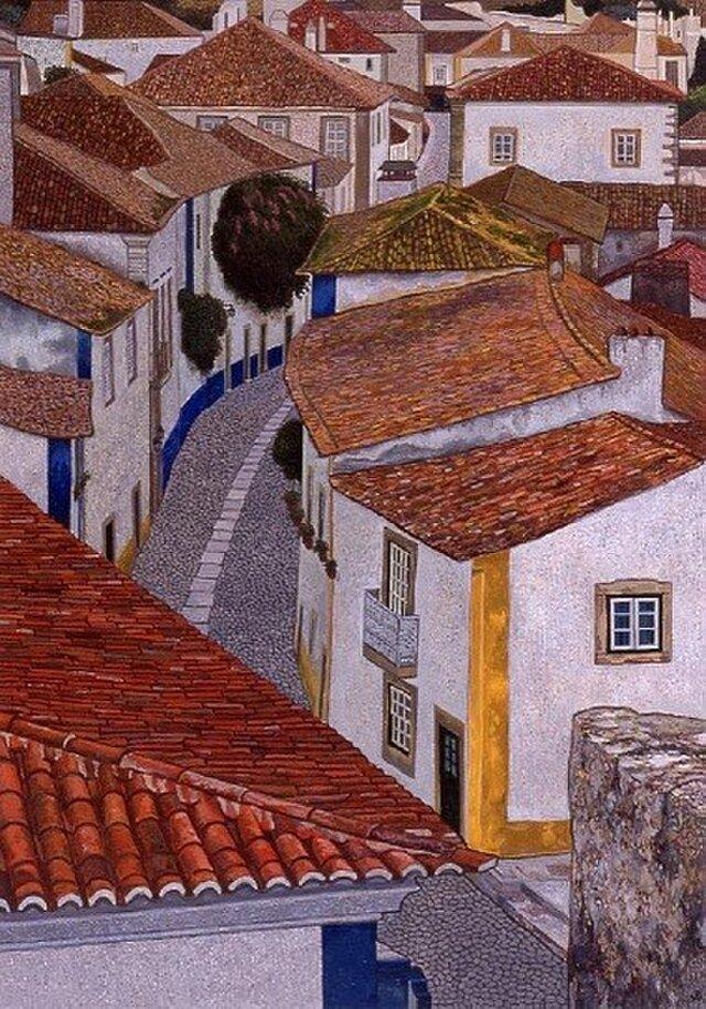 城壁のある町の画像1枚目
