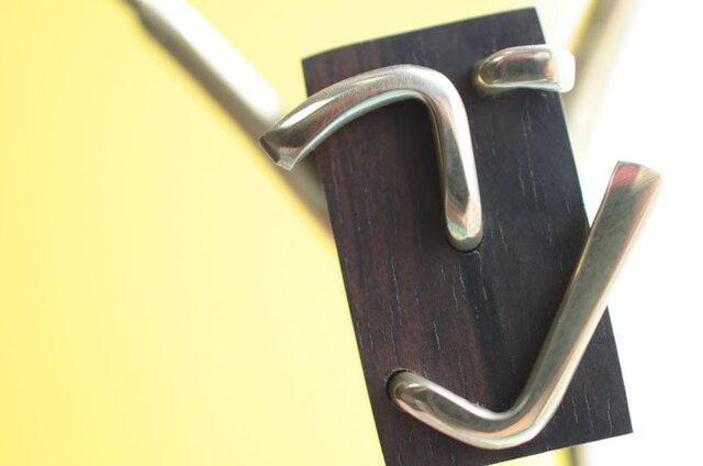 0025「黒檀+真鍮」ひとこと mokujiiの画像1枚目