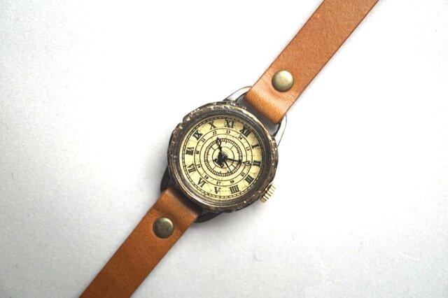 クラック アンティーク ローマ SSサイズ 真鍮 キャメルの画像1枚目