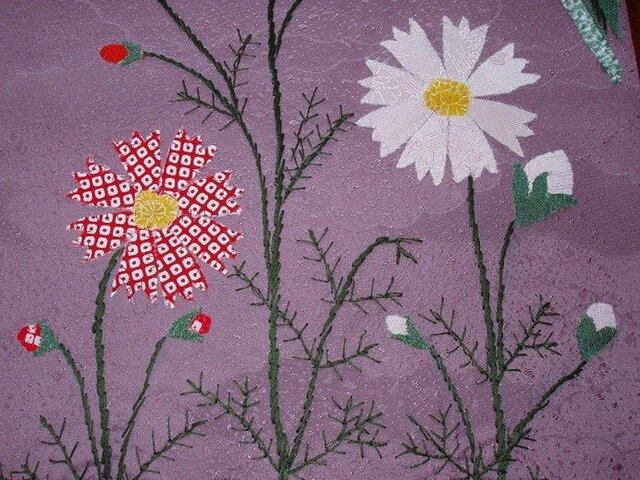 壁掛け ~秋の花とススキ~の画像1枚目