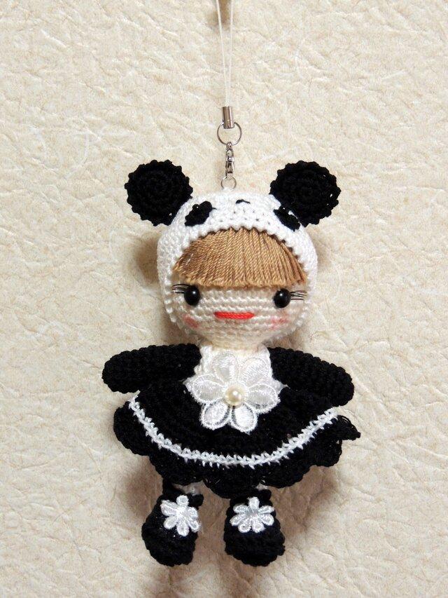 パンダの着ぐるみの画像1枚目