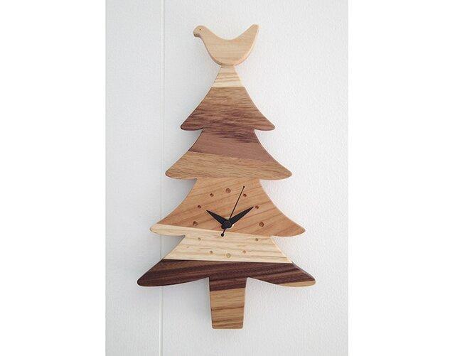 時計 森の記憶 treeの画像1枚目