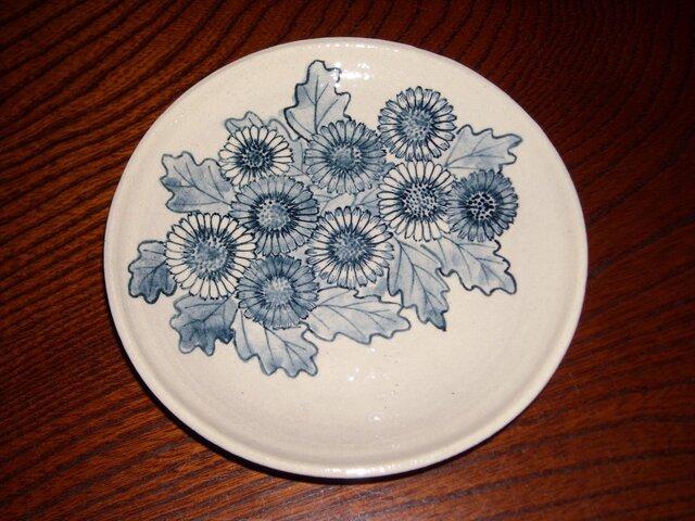 染付五寸皿の画像1枚目