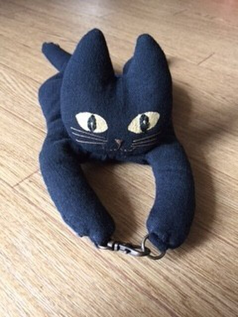 ついて行くねん 黒猫の画像1枚目