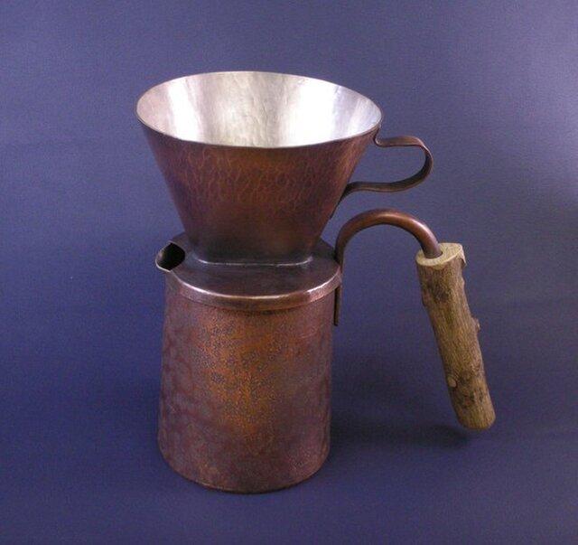 銅製コーヒードリップポットの画像1枚目