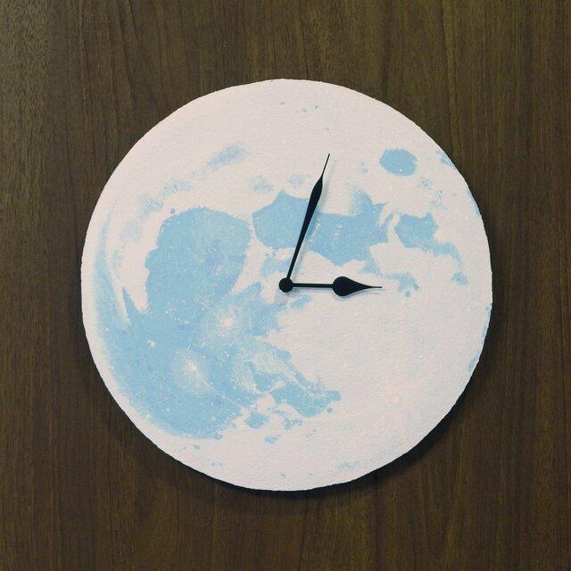 満月の壁掛け時計 <blue>の画像1枚目