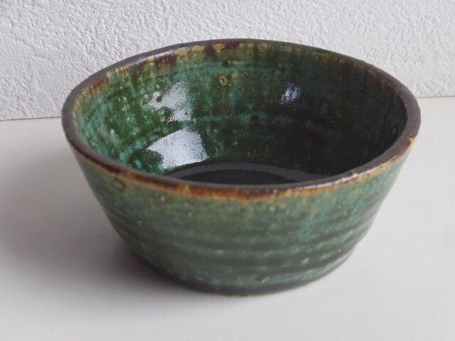 織部縁鉄ドラ小鉢の画像1枚目