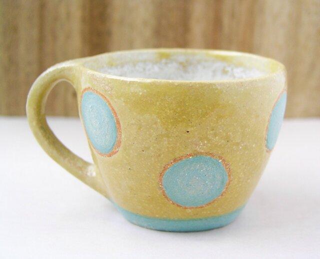 マグカップ (大きな水玉模様)の画像1枚目