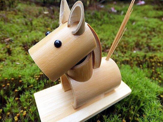 竹細工~干支・うまの画像1枚目