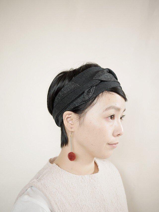 patchwork turban  g (woolmix 16AW)の画像1枚目