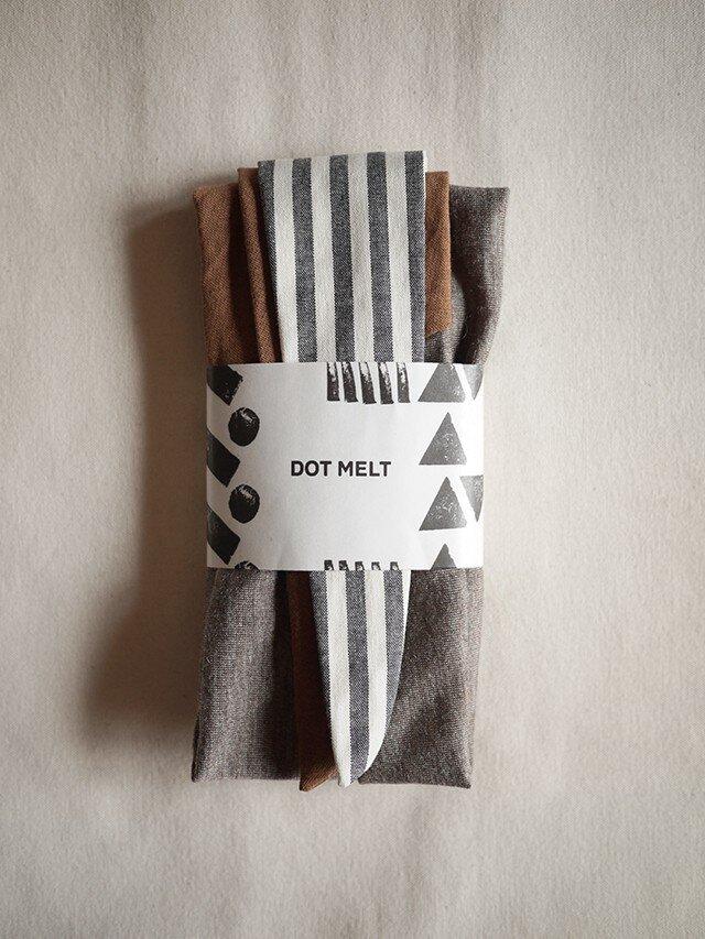 patchwork turban e (cotton×linen mix 16AW)の画像1枚目