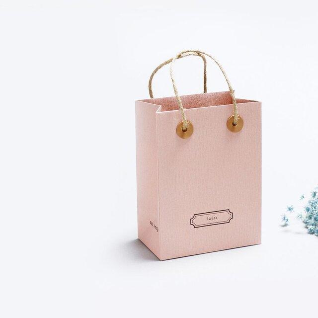 Sweet 桜) 気持ちを伝える 小さな 手提げ ギフトバックの画像1枚目