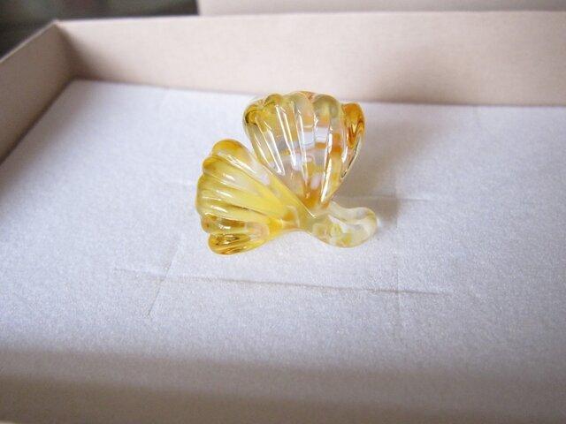 イチョウの帯留 2の画像1枚目