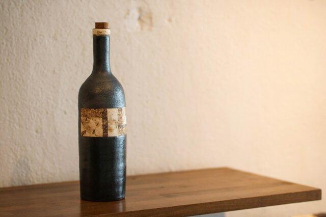 骨董市のワインボトル(ロング)の画像1枚目