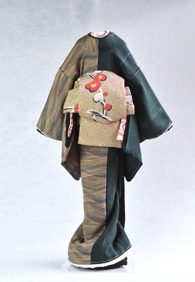 「梅かをり」粋coolこべべ /リメイク着物の画像1枚目