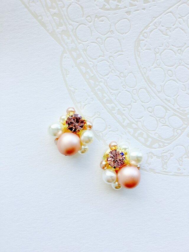 amethyst Bijoux earringの画像1枚目