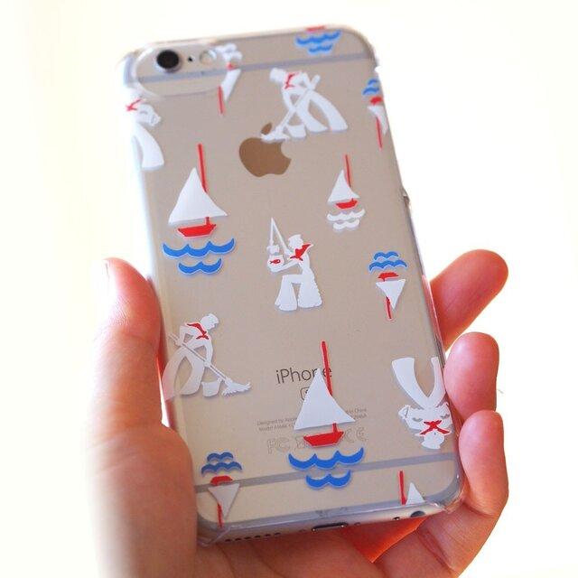 アップル磨く水兵さん【ソフトiPhonePlusケース】#iPhoneXS Max対応の画像1枚目