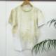 【earth】草木染め Tシャツ Lサイズの画像